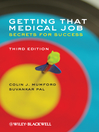 Getting that Medical Job (eBook): Secrets for Success